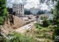 Trabajos constructivos donde estará enclavado el futuro hotel 25 y K, en La Habana. Foto: Kaloian.