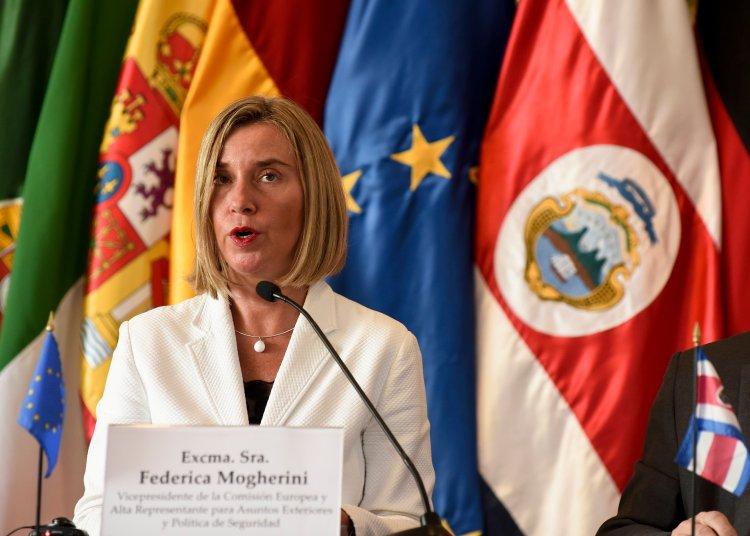 La Alta Representante de la Unión Europea para Asuntos Exteriores y Política de Seguridad, Federica Mogherini, ha advertido a Estados Unidos del impacto de las demandas por la Helms-Burton. Foto: AP