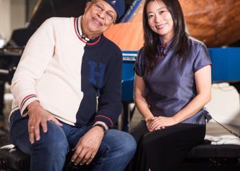 Chucho Valdés yMine Kawakami. Foto: ABC.es