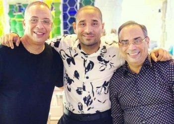Issac Delgado, Asiel Babastro y Gilberto Santa Rosa. Foto: El Nuevo Día.