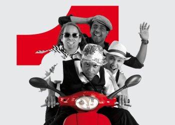 Vanito Brown, Luis Barbería, José Luis Medina y Alejandro Gutiérrez, cuatro de los integrantes de Habana Abierta.