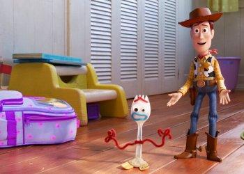 """Una escena de """"Toy Story 4"""". Imagen: Disney / Pixar vía AP."""
