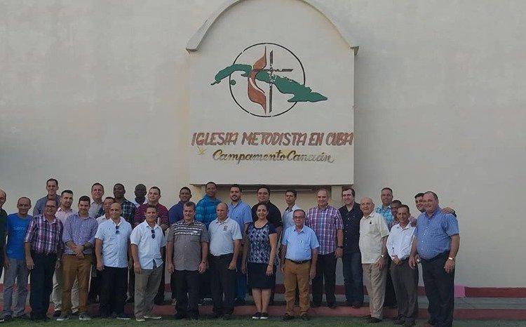 Los miembros. Foto: Iglesia Metodista en Cuba