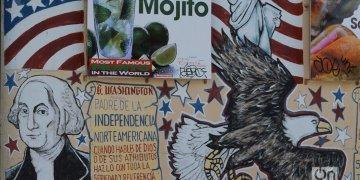 Mural en la Calle Ocho. Foto: Marita Pérez Díaz.