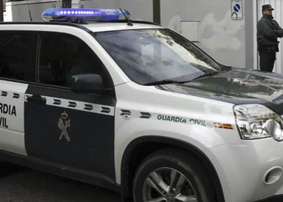 Agentes de la Guardia Civil, en un dispositivo. Foto: EFE.