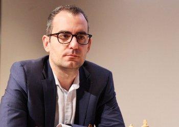 Leinier Domínguez, triunfador en Dortmund. Foto: Tomada de Chessbase.