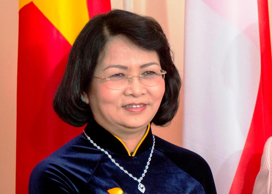 La vicepresidenta de Vietnam Dang Thi Ngoc Thinh. Foto: Nikkei Asian Review.
