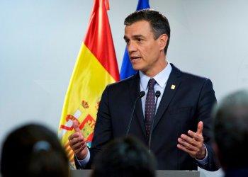 Pedro Sánchez, líder del PSOE, el partido más votado el 28 de abril, que sin embargo necesita acuerdos para formar gobierno. Foto: Virginia Mayo/AP.