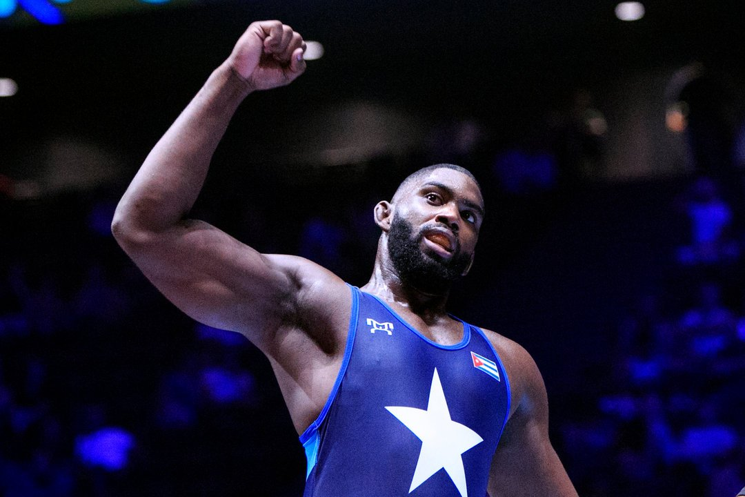 Oscar Pino es hoy una de las figuras centrales de la lucha cubana. Foto: Tomada de United World Wrestling.
