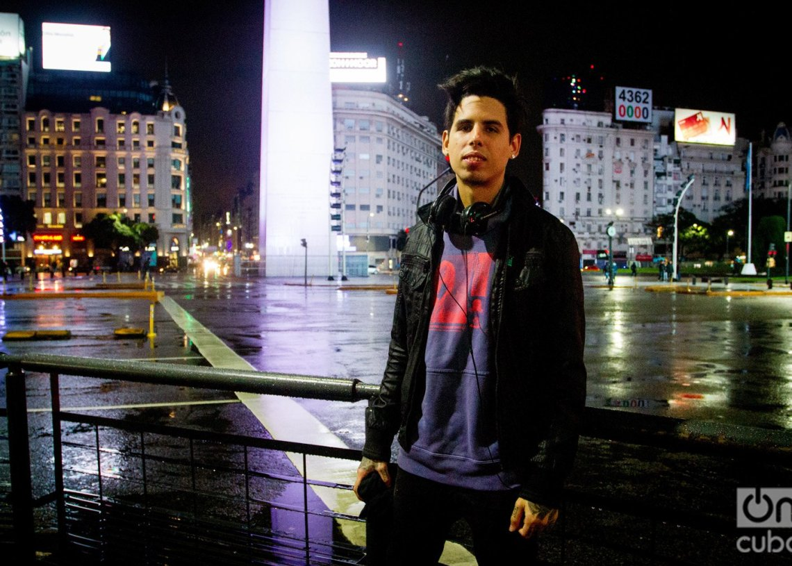 Tiago Felipe Díaz en Buenos Aires. Foto: Dahian Cifuentes.