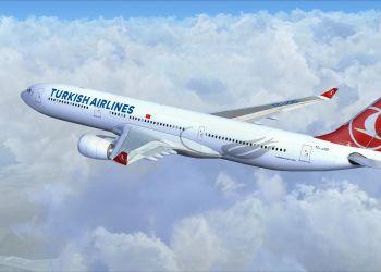 Avión de la aerolínea Turkish Airlines. Foto: Informe Aéreo.