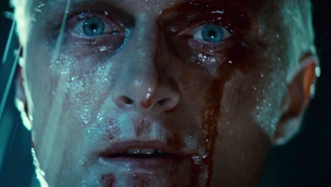 """El actor holandés Rutger Hauer recientemente fallecido, interpretó a Roy Batty en la película Blade Runner (1982) de Ridley Scott. """"Yo he visto cosas que vosotros no creeríais…"""""""
