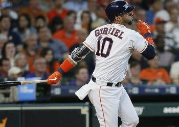 El cubano Yuli Gurriel sigue encendido al bate con los Astros de Houston, e igualó la marca de su equipo de carreras impulsadas en un partido (8). Foto: mlb.nbcsports.com