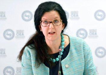 En esta fotografía de archivo del 27 de junio de 2019, Kimberly Breier, subsecretaria de Estado para Asuntos del Hemisferio Occidental. Foto: Luis Benavides/ AP Archivo.