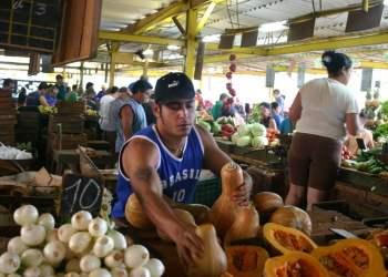 Mercado de 19 y B, en el barrio del Vedado, La Habana. Foto: mapio.net.