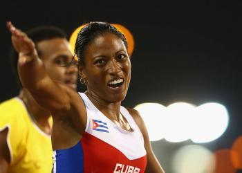 Omara Durand será la abanderada de Cuba en los Juegos Parapanamericanos de Lima. Foto: Francois Nel / Getty Images / paralympic.org