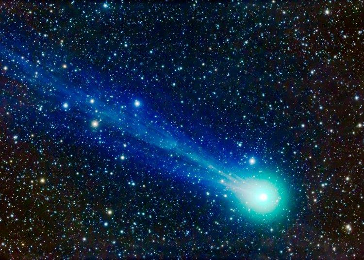 Vista de un cometa. Foto: engadget.com / Archivo.