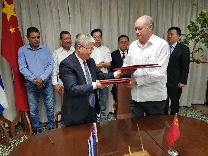 Suscriben acuerdos Cuba y China nuevos istrumentos