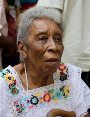 La narradora oral cubana Haydée Arteaga. Foto: Directorio de Afrocubanas.