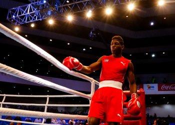 Andy Cruz es el principal exponente del boxeo cubano en la actualidad. Foto: Calixto N. Llanes/JIT
