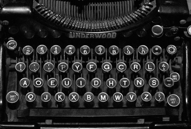 Teclado de máquina de escribir. Foto: innmentor.com