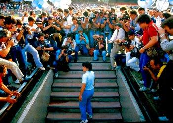 "Escena del documental ""Diego Maradona"". Foto: HBO/AP."