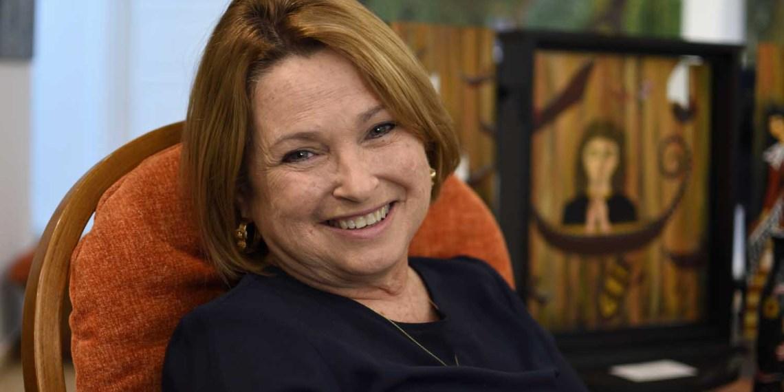 Silvia Rodríguez Rivero: Pintora, investigadora, poeta, guionista, directora artística, productora discográfica. Foto: Otmaro Rodríguez.