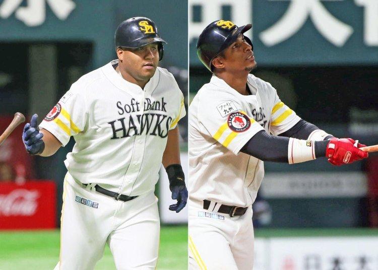 Despaigne y Gracial son dos de los cubanos que siguen en carrera por el título de Japón. Foto: Tomada de Béisbol Japonés.