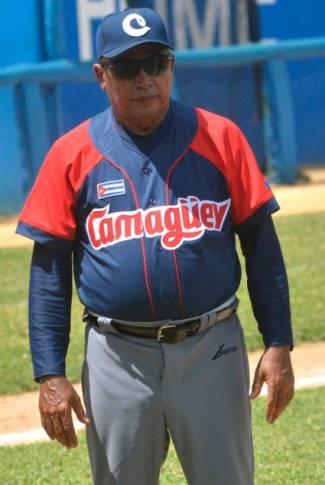 Miguel Borroto con el uniforme de Camagüey. Foto: Juventud Rebelde / Archivo.