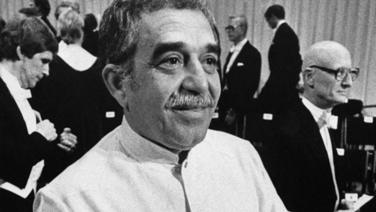 Gabriel García Márquez. durante la ceremonia de entrega de su Premio Nobel, celebrada en la Sala de Conciertos de Estocolmo, Suecia, el 8 de diciembre de 1982. Foto: lavanguardia.es