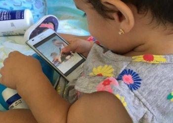 La niña Paloma Domínguez Caballero, fallecida el pasado 9 de octubre por complicaciones tras ser vacunada en un policlínico de La Habana. Foto: @Yaima_cab/Instagram.