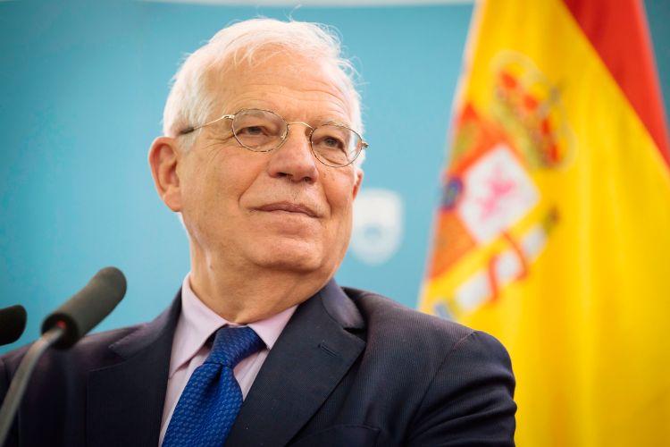 El canciller español Josep Borrell, quien ocupará el cargo de alto representante comunitario para las Relaciones Exteriores y vicepresidente de la Comisión Europea. Foto: Jure Makovec/AFP/Getty Images.