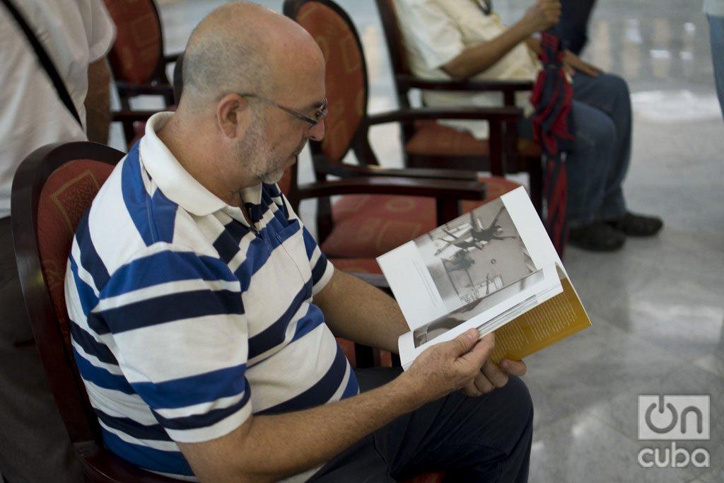 Momentos de la presentación de libro de fotografías sobre Alicia Alonso. Foto: Otmaro Rodríguez