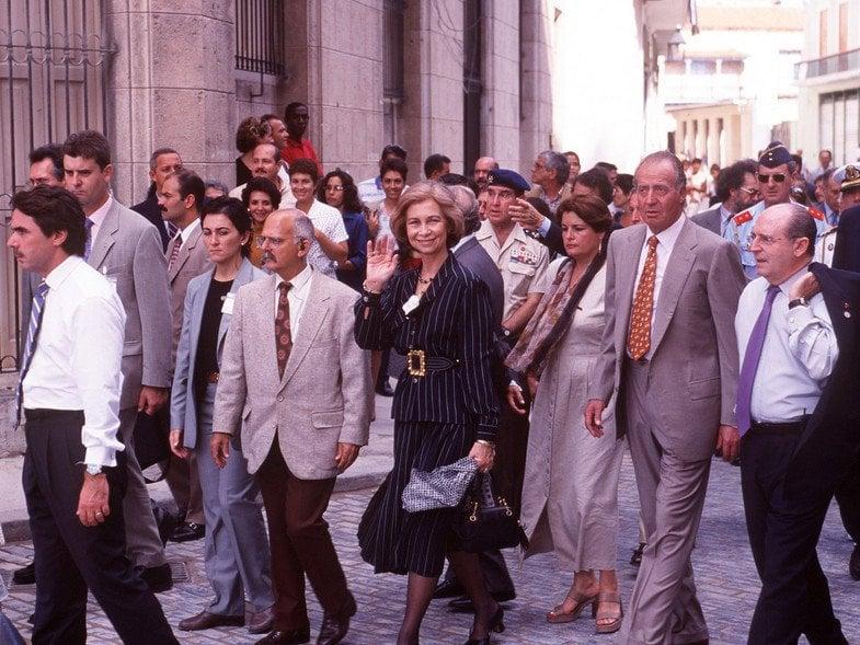 Reyes de España ya viajan hacia Cuba
