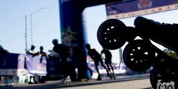 La primera edición de la Maratón de Patinaje de La Habana se celebró este sábado con más de 200 participantes. Foto: Otmaro Rodríguez