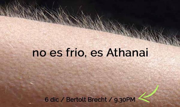 Concierto-Athanai-Bertolt Brecht-diciembre 2019