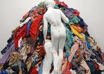 """""""Venus de los trapos"""" de Michelangelo Pistoletto, 1967"""