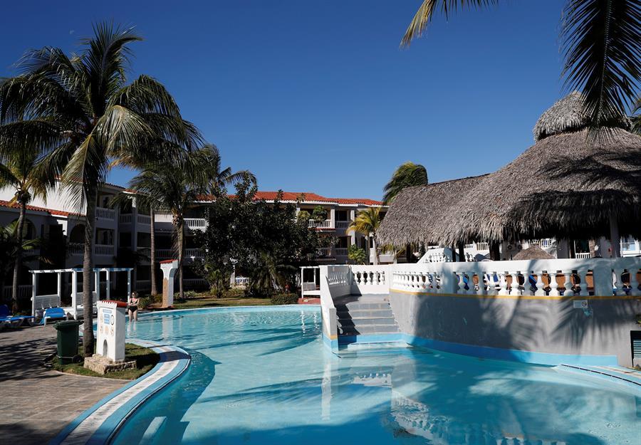Fotografía del 17 de enero de 2020 que muestra las instalaciones del Hotel Memories Trinidad del Mar, en la ciudad de Trinidad, en Sancti Spíritus. EFE/ Yander Zamora