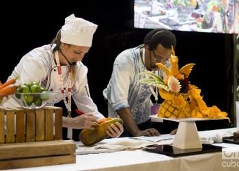 Cuba Sabe II Taller culinario. Foto: Otmaro Rodríguez.