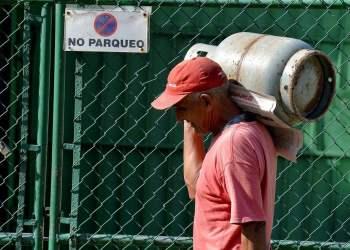 Cuba produce el 97 % del gas natural asociado del petróleo que se utiliza para la generación eléctrica y el consumo doméstico en La Habana. Foto: AFP