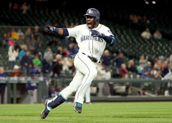 Guillermo Heredia jugó tres temporadas con los Marineros de Seattle. Foto: Abbie Parr/Getty Images