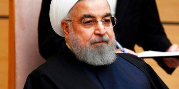 El presidente de Irán, Hassan Rohaní. Foto: Charly Triballeau/imagen de pool vía AP/Archivo.