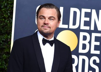 El actor y activista Leonardo DiCaprio en la alfombra roja de los Globos de Oro, en Beverly Hills, California. (Foto por Jordan Strauss/Invision/AP, archivo)
