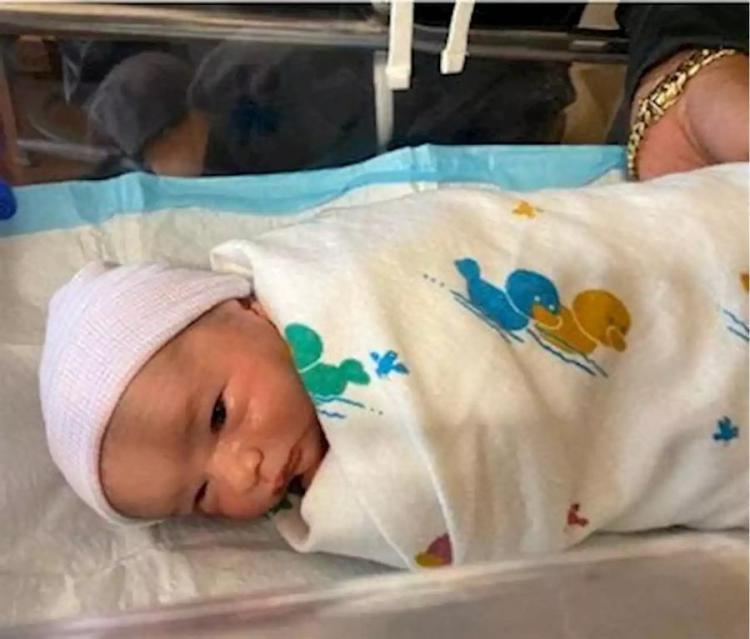 """Fotografía cedida por el Departamento de Policía del Condado Miami Dade donde aparece """"Baby Andrew Caballeiro"""", quien con menos de un mes de vida es la persona más buscada del sur de Florida (Estados Unidos). Foto: EFE/ Policía Miami Dade"""