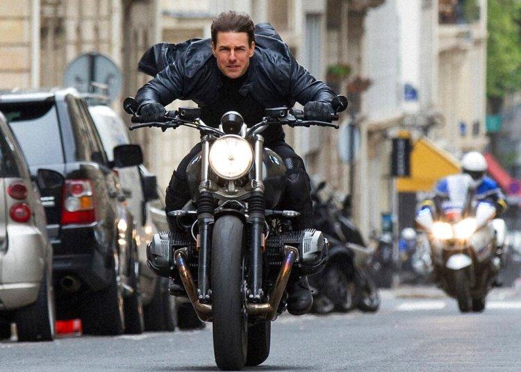 """Tom Cruise en una escena del filme """"Misión imposible 6"""". Foto: Chiabella James/Paramount Pictures y Skydance vía AP."""