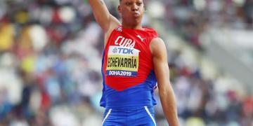 El camagüeyano Juan Miguel Echevarria. Foto: World Athletics.