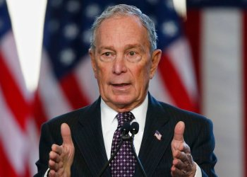 Michael Bloomberg Foto: Sue Ogrocki / AP.