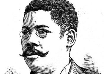 Retrato del patriota y periodista cubano Juan Gualberto Gómez.