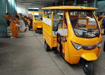 Una flota de 23 triciclos eléctricos se sumarán al transporte de pasajeros en la capital cubana. Foto: @NaturalezaSecretadeCuba /Facebook
