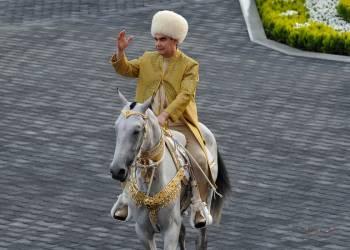 El presidente de Turkmenistán, Gurbanguly Berdymukhamedov. Foto: Business Insider.